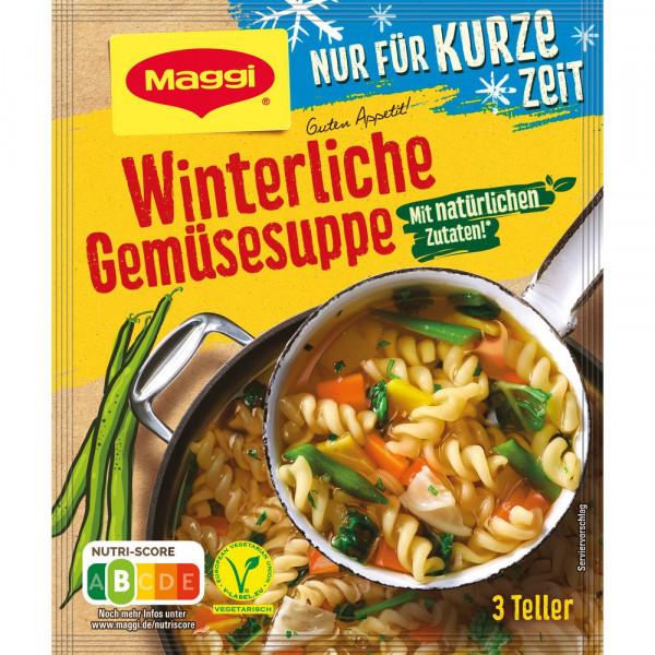 Winterliche Gemüsesuppe