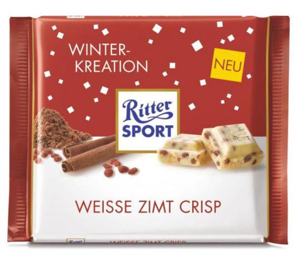 Tafelschokolade, Weiße Zimt Crisp