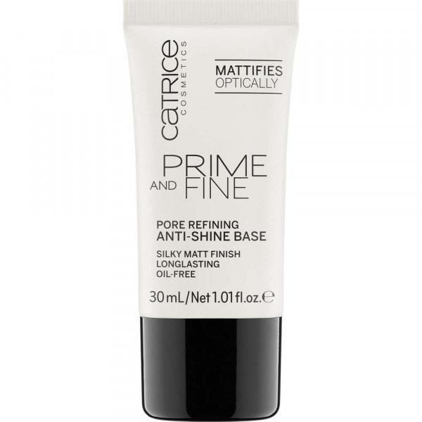 Prime And Fine Pore Refining Anti-Shine Base Primer