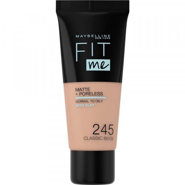 Make-Up Fit Me Matte + Poreless, Classic Beige 245
