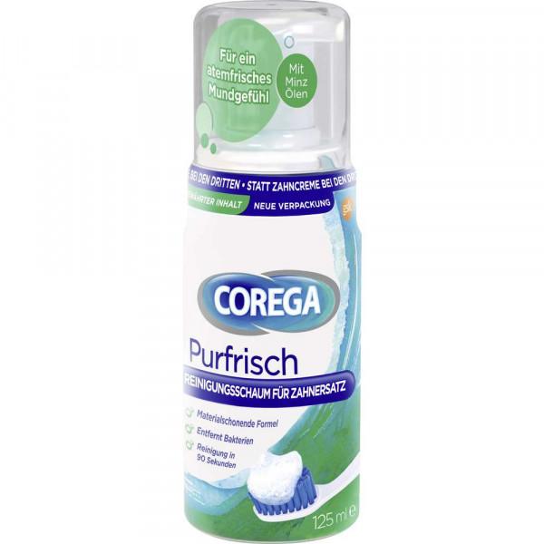 Reinigungsschaum für Zahnersatz, purfrisch