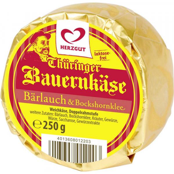 """Weichkäse """"Thüringer Bauernkäse"""", Bärlauch & Bockshornklee"""