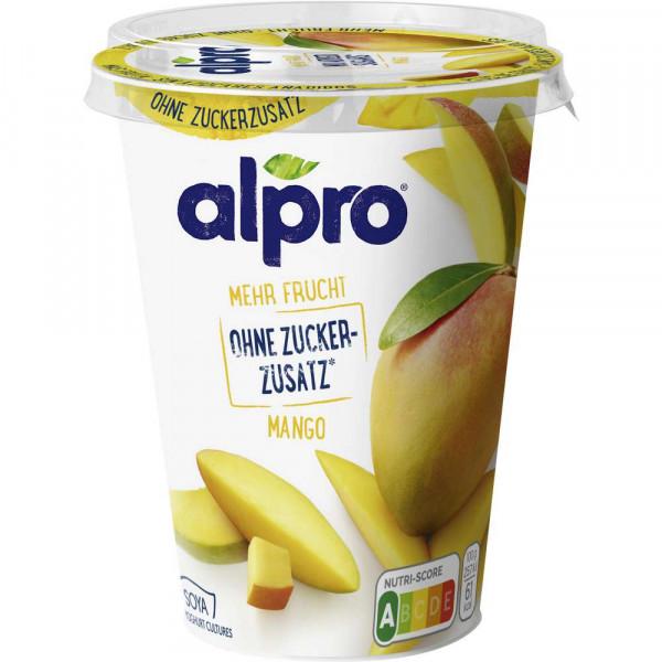 Soja-Joghurtalternative, Mango