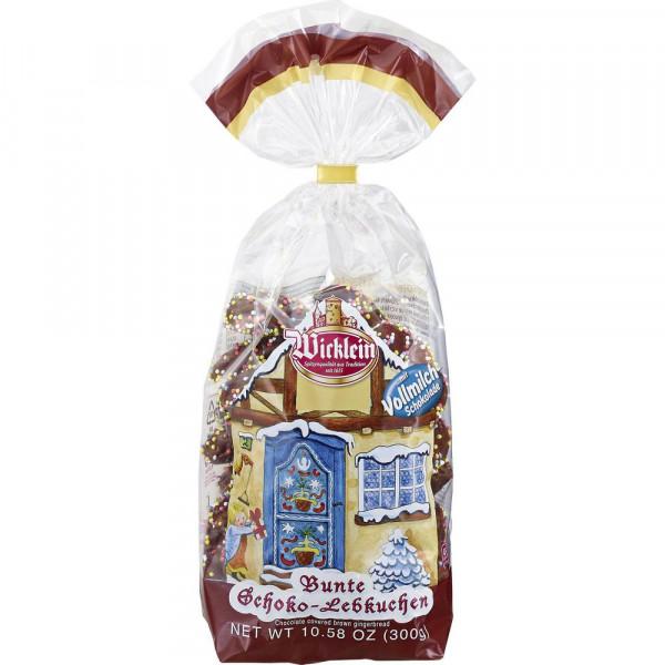 Bunte Schokoladen-Lebkuchen, Vollmilch