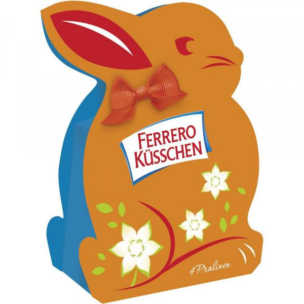 Schokoladen-Haselnuss-Pralinen in Osterbox