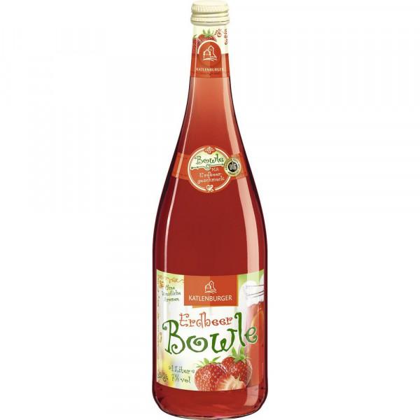 Fruchtweinbowle, Erdbeer 7%