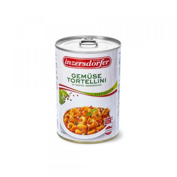 Gemüse-Tortellini, in Tomatensauce
