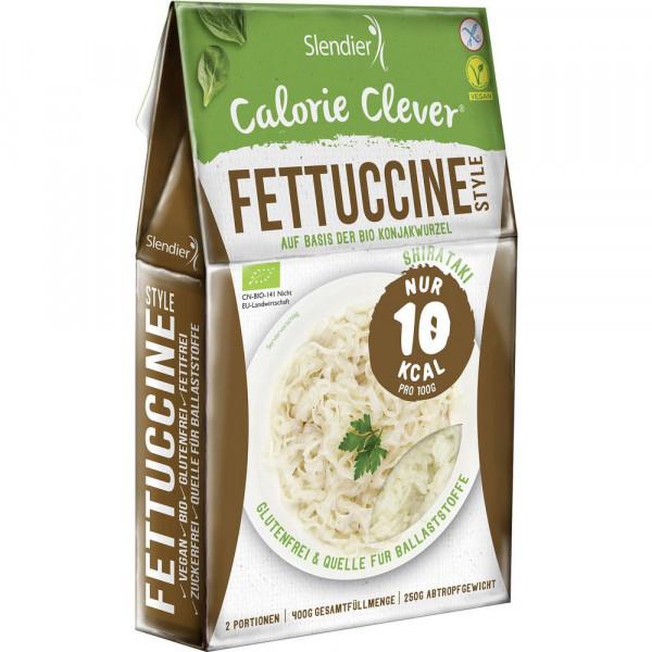 Bio Nudeln Fettuccine Style auf Konjakwurzel Basis