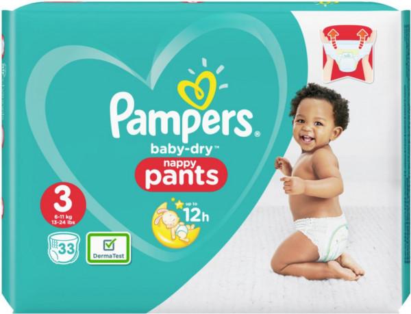 Windeln Baby Dry Pants Gr. 3 Midi, 6-11kg