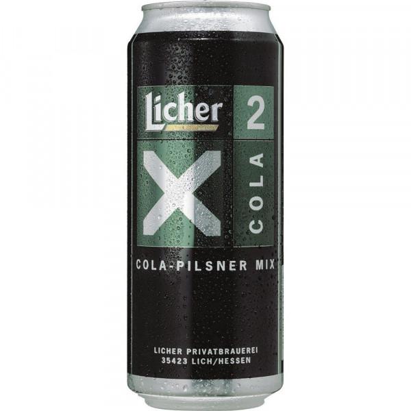 X2 Biermischgetränk, Cola-Pilsener Mix 2,2%