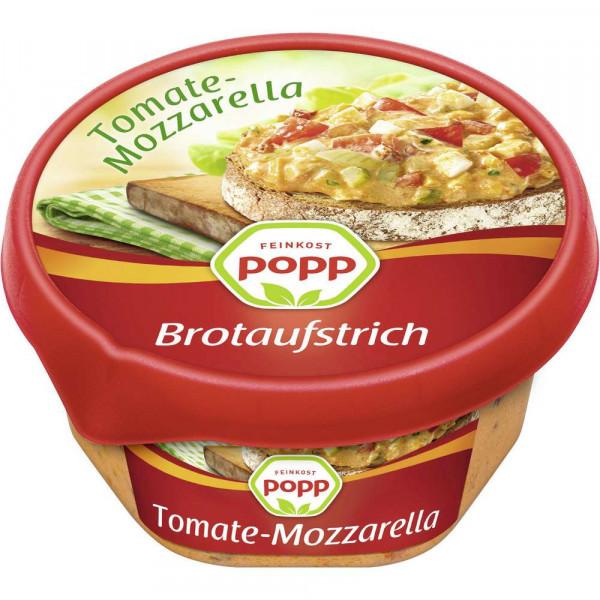 Brotaufstrich, Tomate-Mozzarella