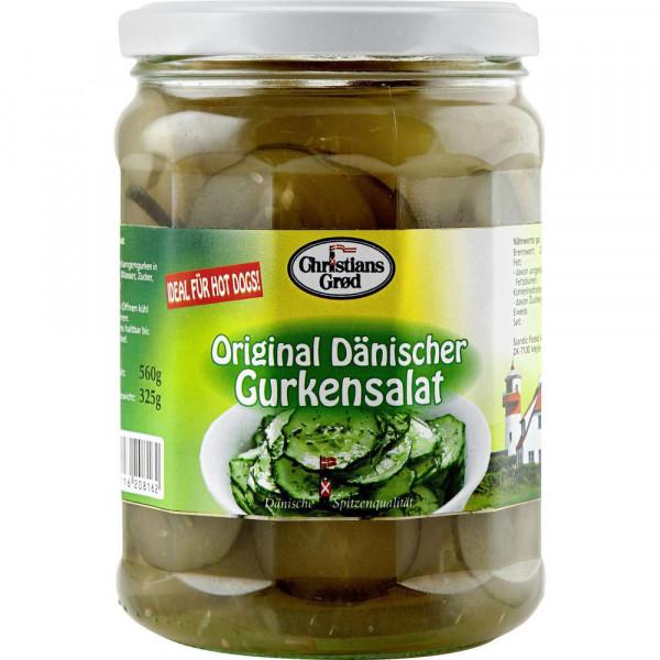 Original Dänischer Gurkensalat