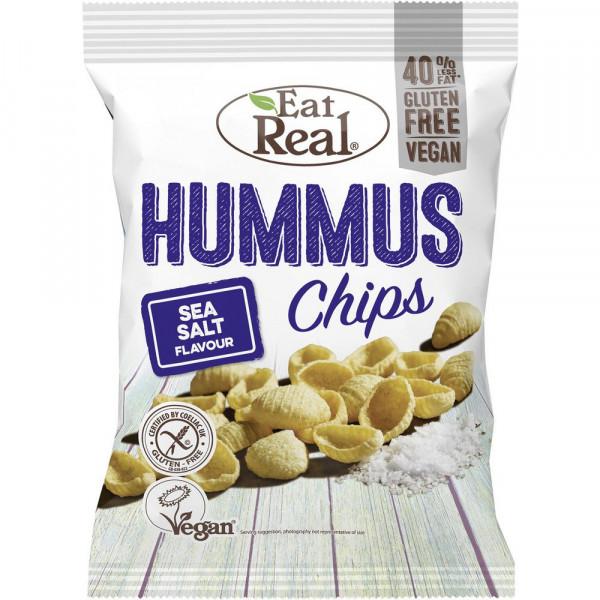 Hummus Chips Sea Salt 135g, Vegan