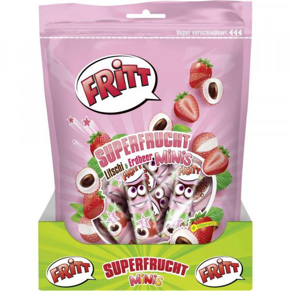 Superfrucht Litschi & Erdbeer