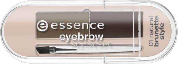 Augenbrauen Stylist Set, Natural Brunette Style 01