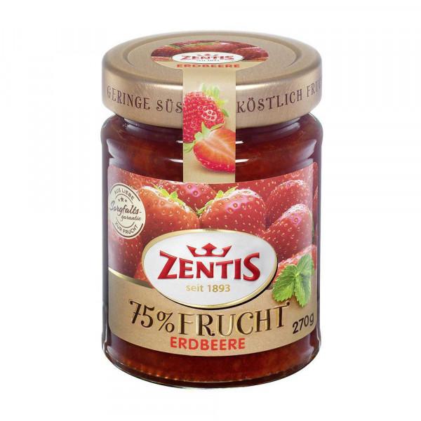 Fruchtaufstrich 75% Frucht, Erdbeere