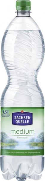 Mineralwasser, Medium (40 x 360 Liter)