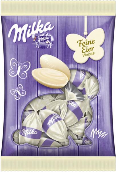Schokoladen-Eier, weiß