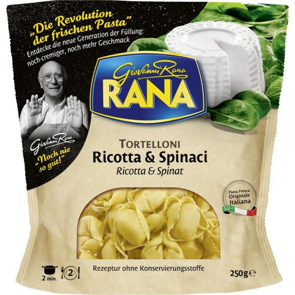 Tortelloni, Ricotta & Spinaci