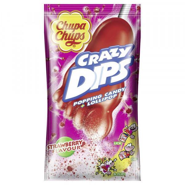"""Lutscher """"Crazy Dips"""", Erdbeere"""