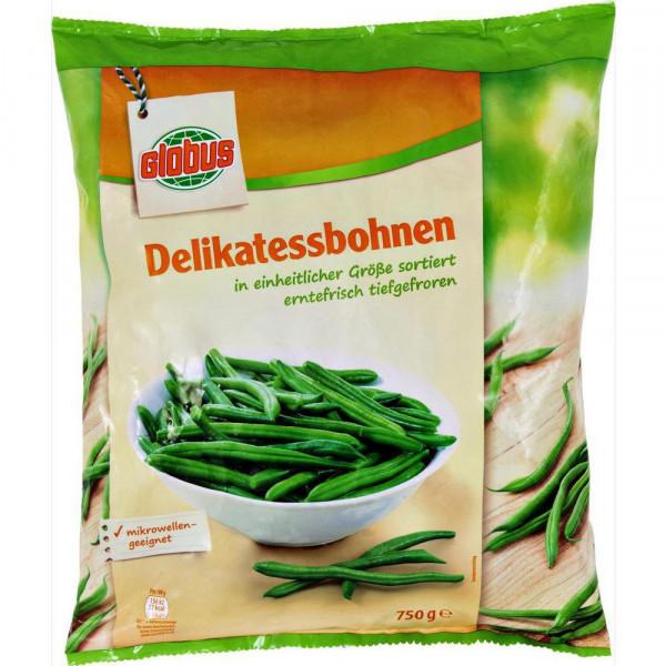 Delikatess-Bohnen, tiefgekühlt