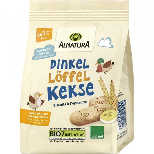 Bio Dinkel-Löffel-Kekse