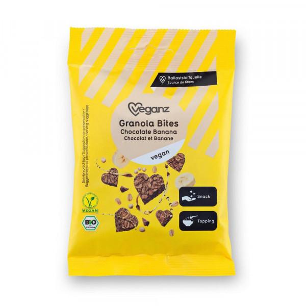 Bio Granola Bites Chocolate Banana