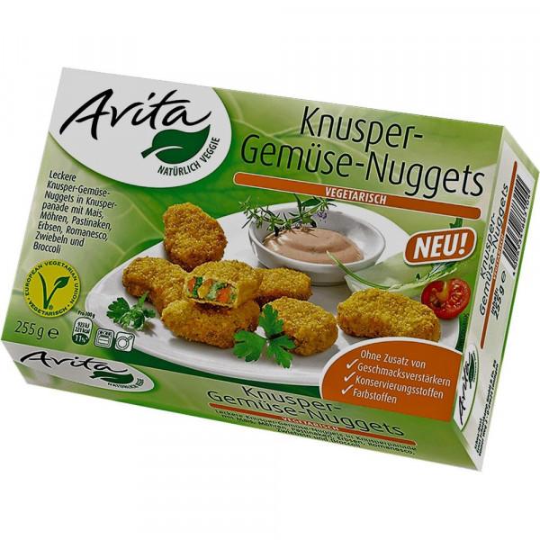 Knusper-Gemüse-Nuggets