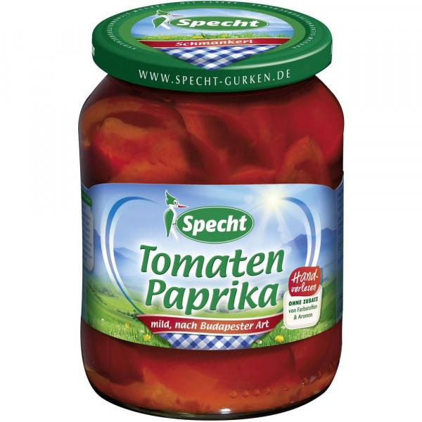 Tomaten Paprika, Budapester Art