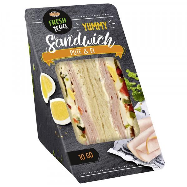 Sandwich Putenbrust-Ei