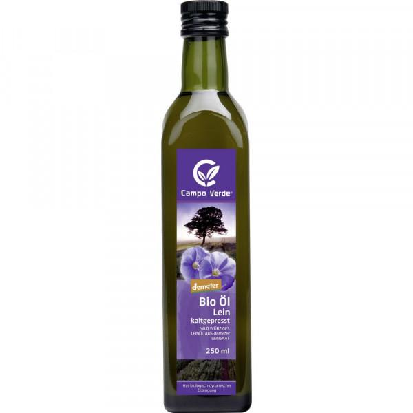 Bio Demeter Leinöl, kaltgepresst