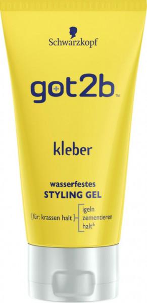 got2b Styling Gel Kleber, wasserfest