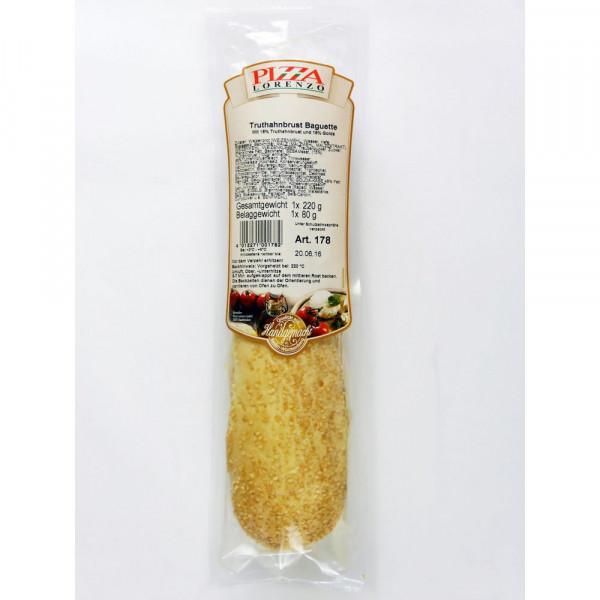 Truthahnschinken-Käse Baguette