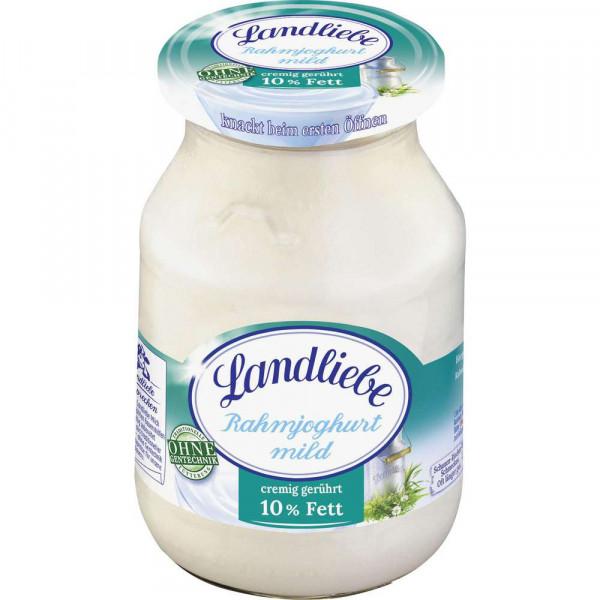 Rahmjoghurt mild 10% Fett, Natur/ Honig