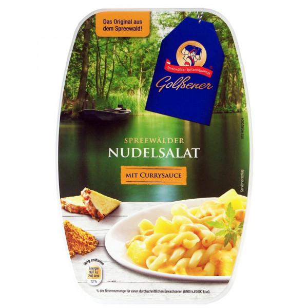 Spreewälder Nudelsalat mir Currysauce
