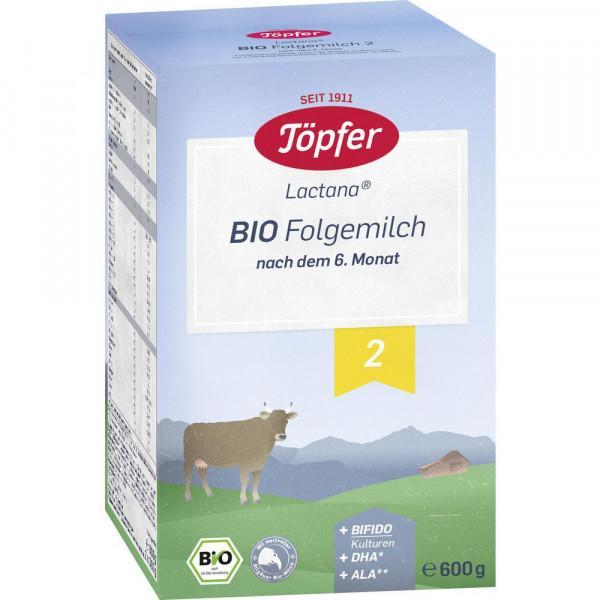 Lactana Bio Folgemilch, 2