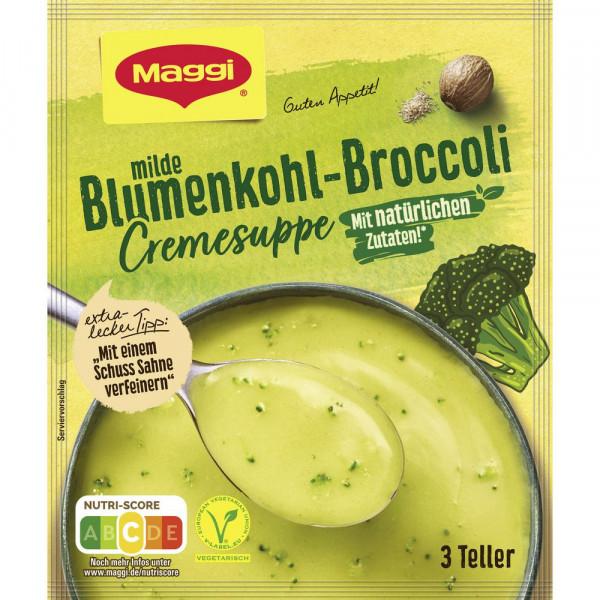 Blumenkohl-Broccoli Suppe