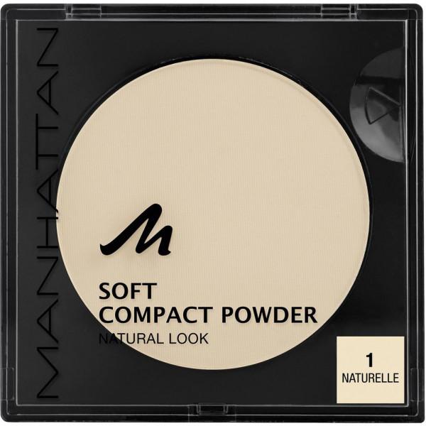 Puder Soft Compact Powder, Naturelle 1