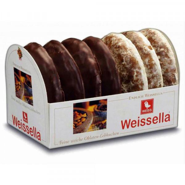 Weissella Oblatenlebkuchen, glasiert
