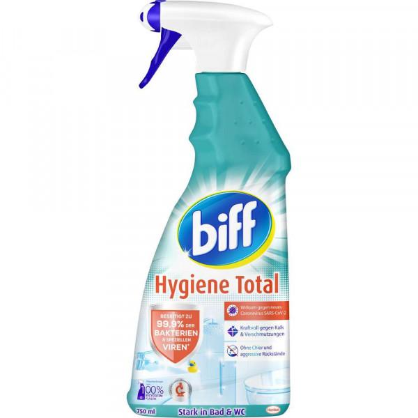 Bad Total Reiniger, Hygiene