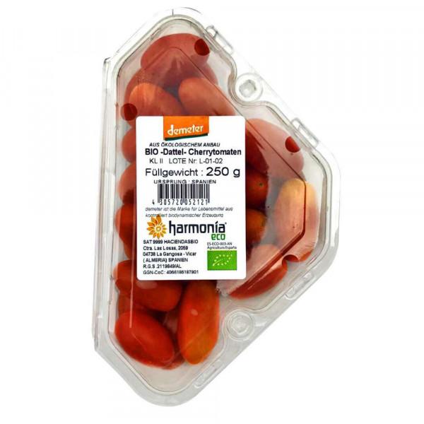 Demeter Bio Dattel-Cherrytomaten, Schale