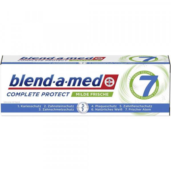Zahncreme Complete Protect 7, milde Frische