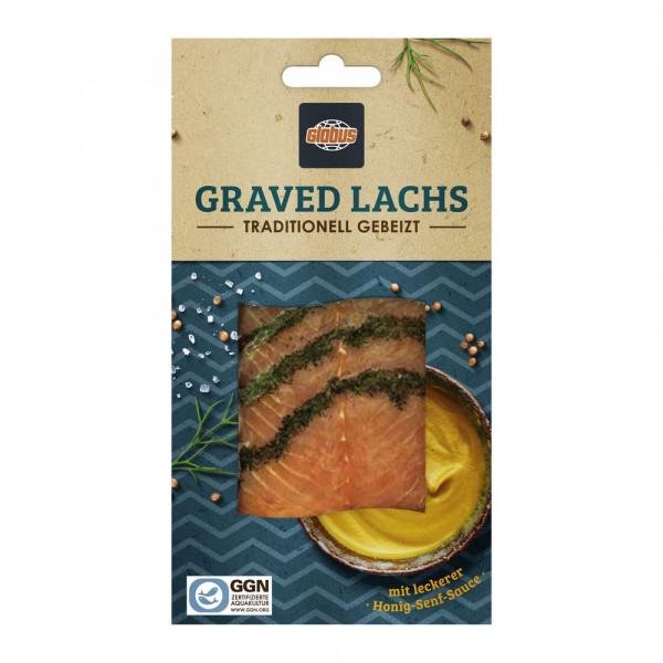 Graved Lachs, mit Sauce