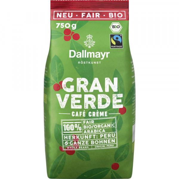 "Bio Kaffee ""Gran Verde"", Café Crème, ganze Bohnen"