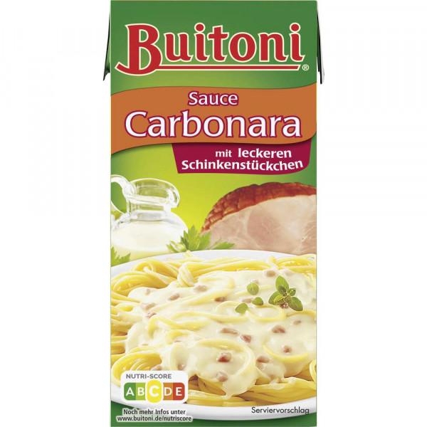 """Pastasoße """"Carbonara"""", mit Schinken"""