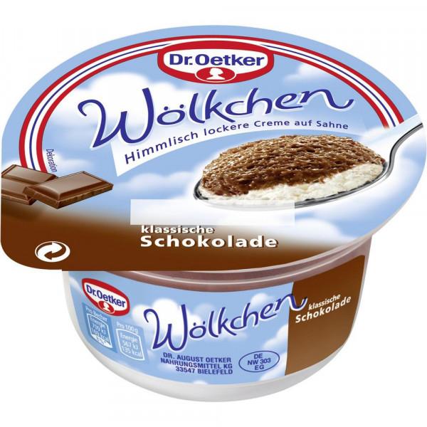 "Puddingcreme ""Wölkchen"", Schokolade"
