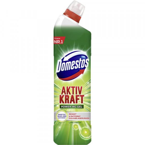 WC-Gel Aktiv Kraftreiniger, Lime Fresh