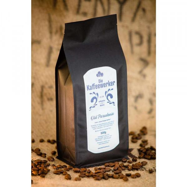 """Kaffee-Bohnen """"Old Paradenia"""""""