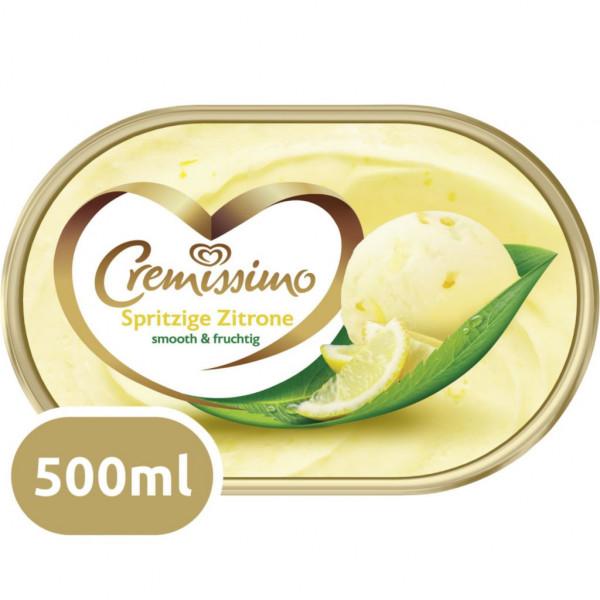 Eiscreme Cremissimo, Spritzige Zitrone