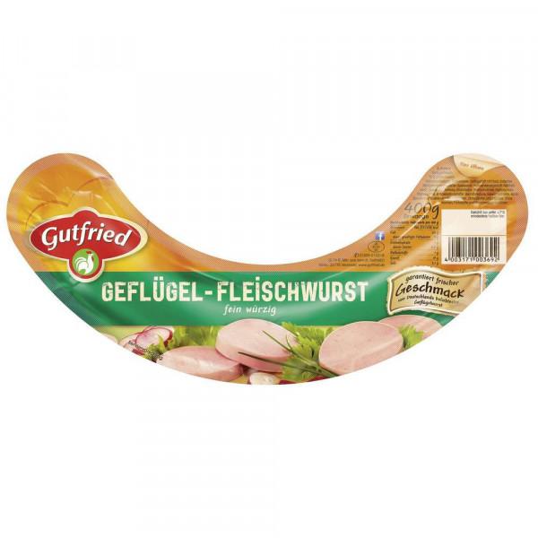 Geflügel Fleischwurst, Natur